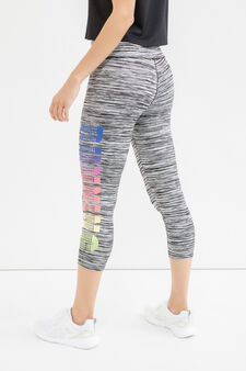 OVS Active Sport Training leggings, Grey, hi-res