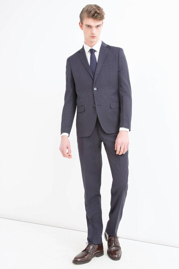 Elegant slim-fit suit in stretch viscose | OVS