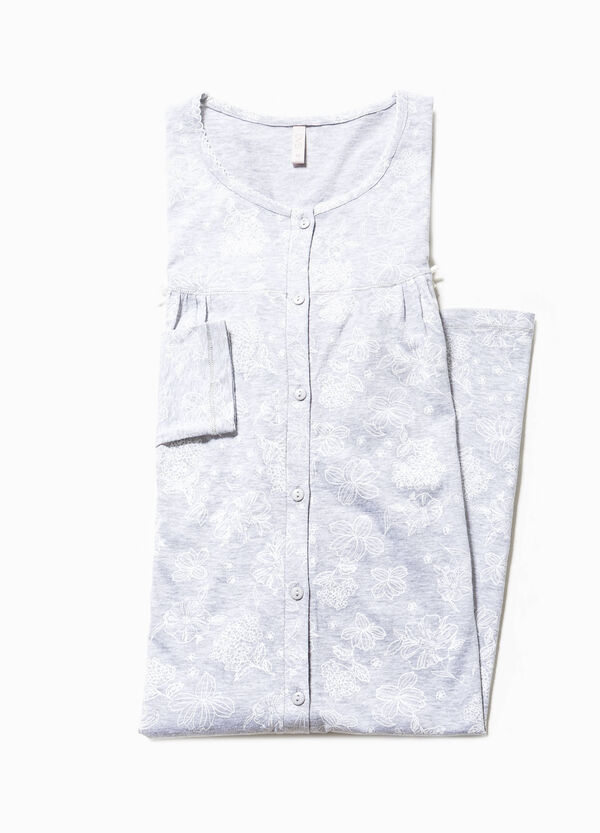 Camicia da notte floreale | OVS