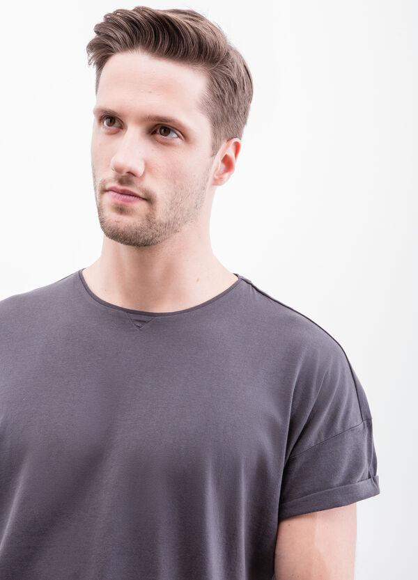 Solid colour cotton T-shirt | OVS