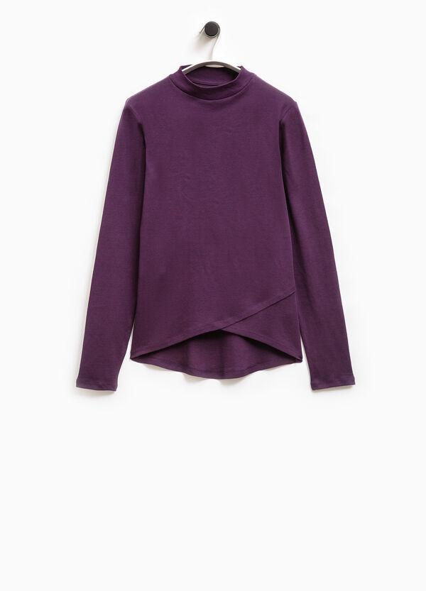 Smart Basic ribbed cotton T-shirt | OVS
