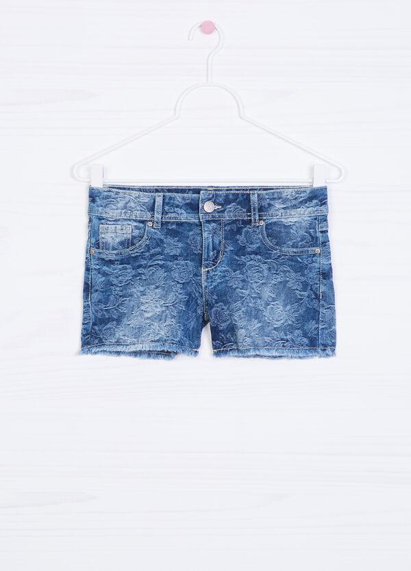 Shorts di jeans stretch fantasia | OVS