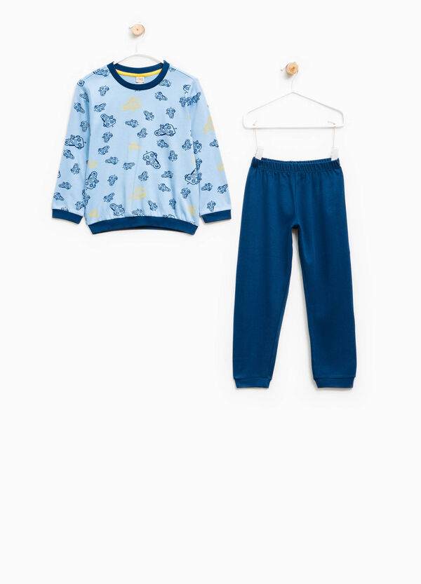 Cotton pyjamas with robot print | OVS