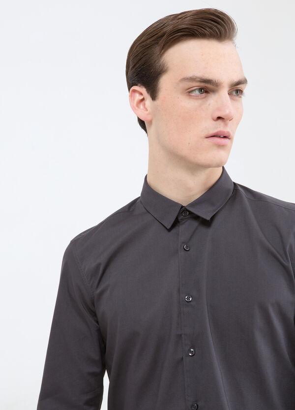 Camicia tinta unita cotone | OVS