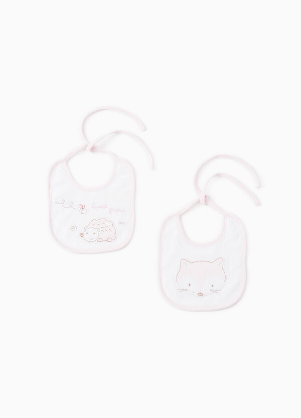 Two-pack bibs with patches | OVS
