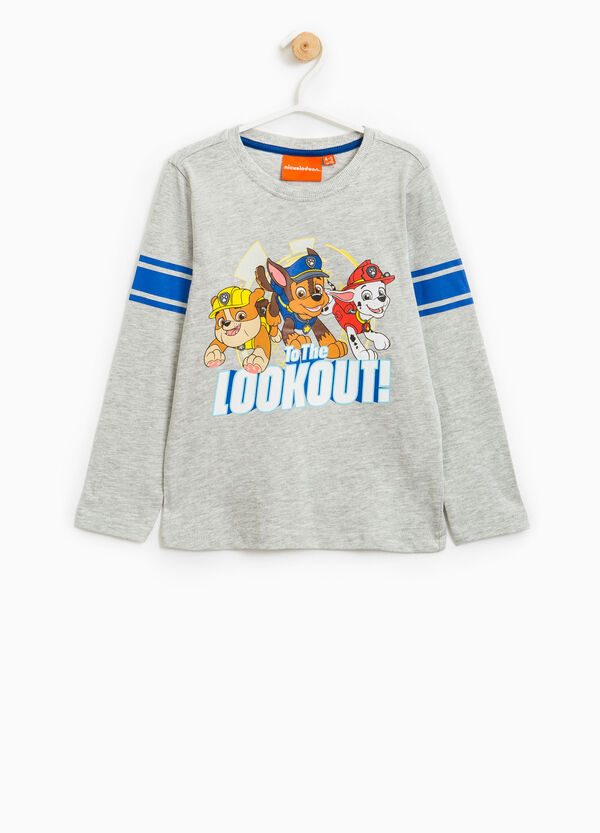 Cotton T-shirt with Paw Patrol print | OVS