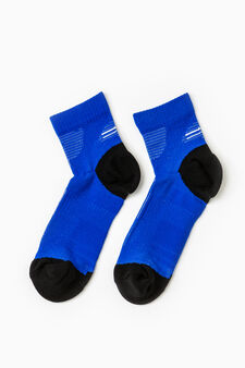 Active Sport Training stretch socks, Azure, hi-res