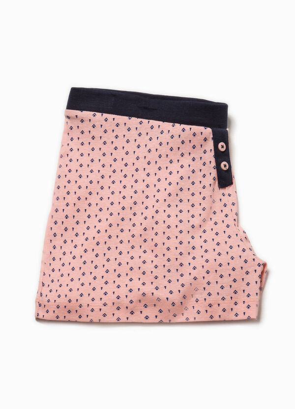Patterned pyjama shorts | OVS