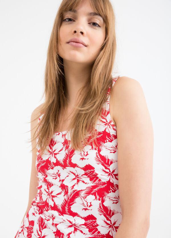 Short stretch patterned dress | OVS
