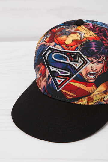 Cappello baseball Superman, Nero, hi-res