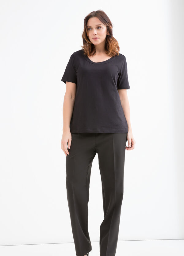 T-shirt in puro cotone Curvy | OVS