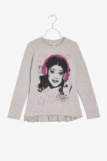 Violetta T-shirt, Light Grey, hi-res