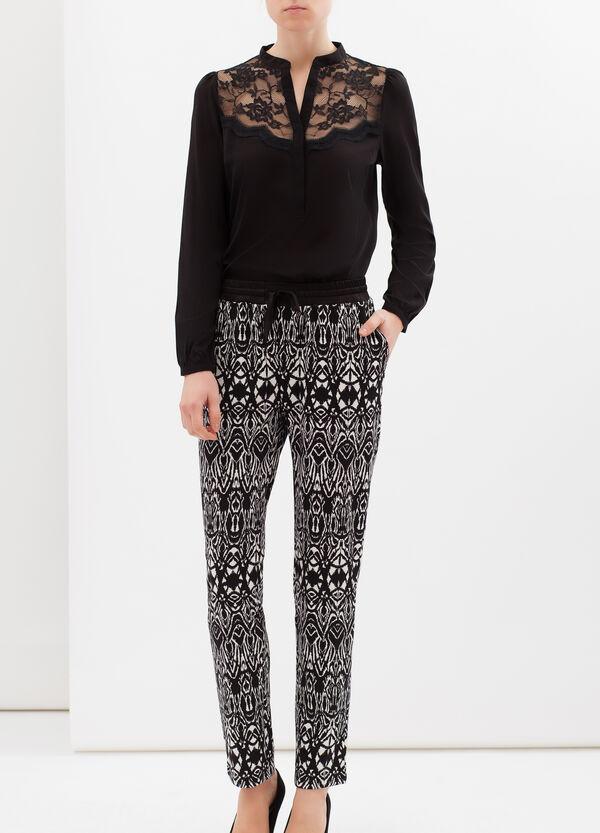 Pantaloni stretch fantasia | OVS