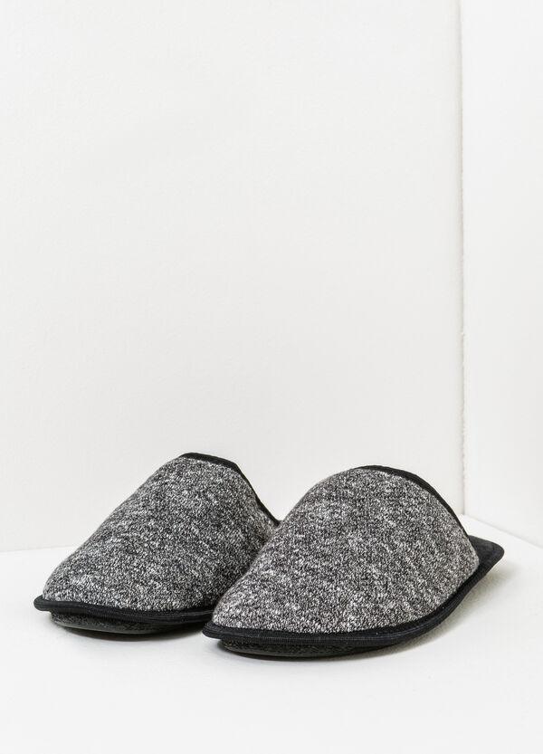 Pantofole mélange profili a contrasto | OVS