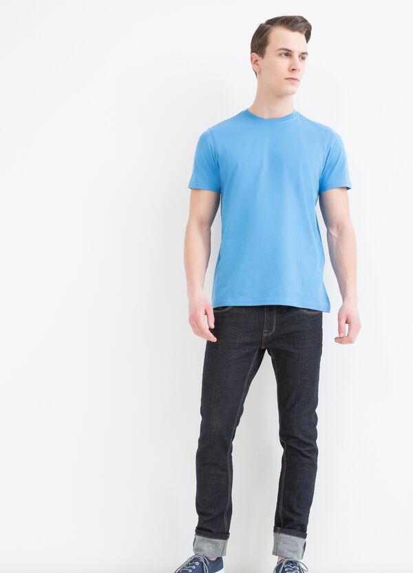 T-shirt in cotone scollo rotondo | OVS
