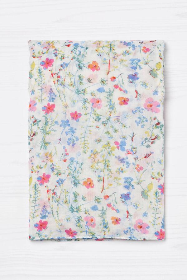 Sciarpa con fantasia floreale | OVS