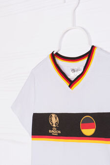 Outfit with UEFA Euro 2016 print, White/Black, hi-res
