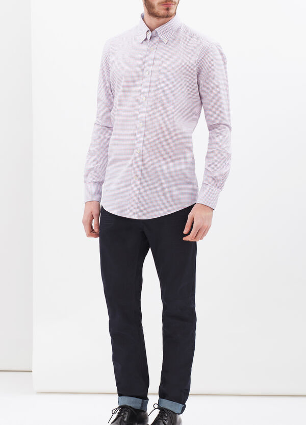 Slim-fit shirt in 100% cotton oxford | OVS