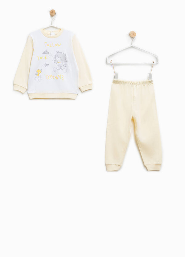 Pijama 100% Biocotton con estampado | OVS