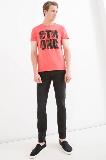 T-shirt puro cotone maxi stampa
