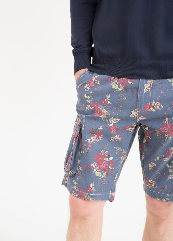 G&H printed Bermuda shorts in 100% cotton | OVS