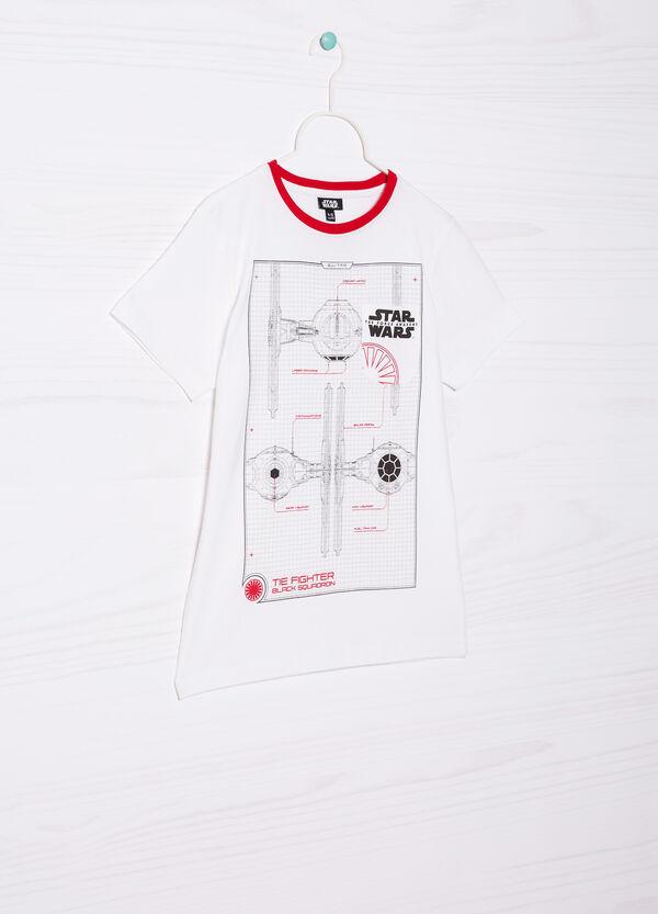 Star Wars printed cotton T-shirt | OVS