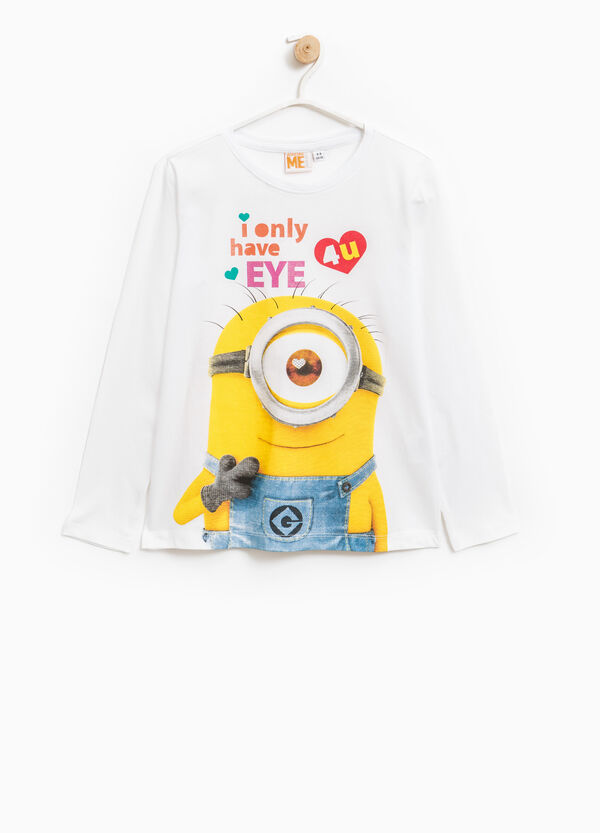 Minions printed T-shirt in 100% cotton | OVS