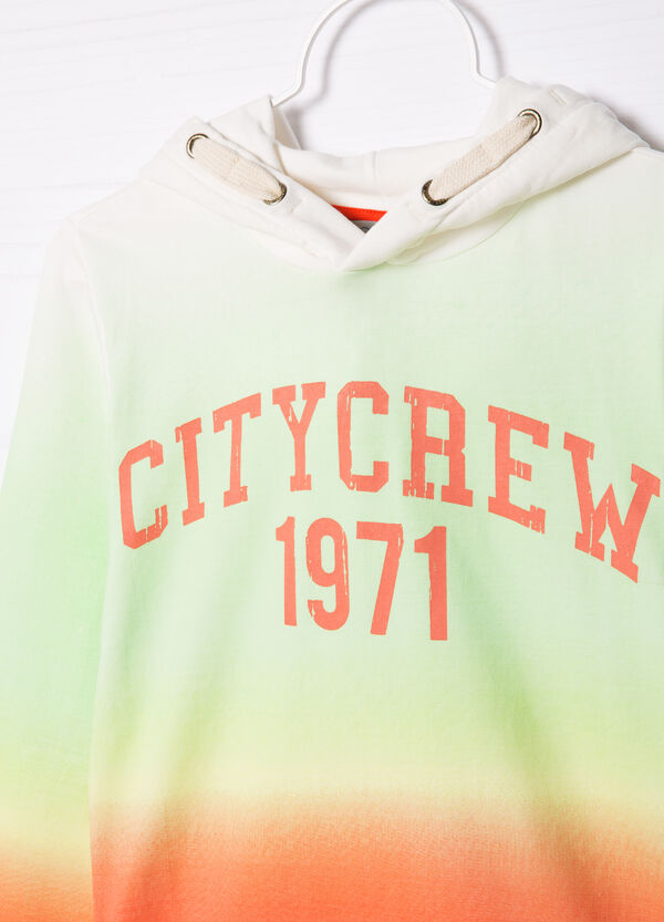 Sweatshirt in cotton with print | OVS