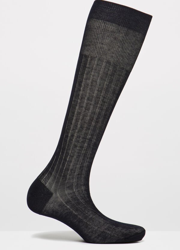 100% cotton long socks | OVS
