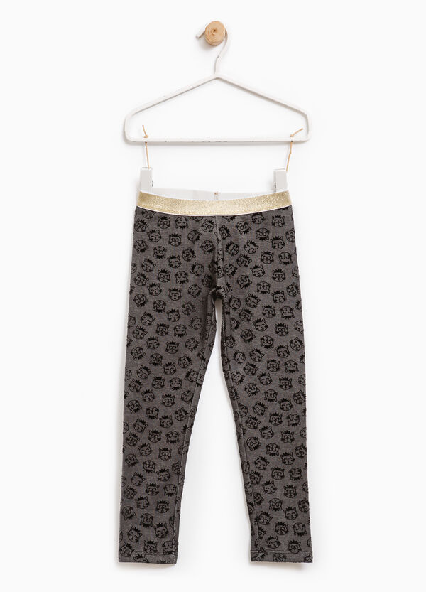 Leggings with all-over print | OVS