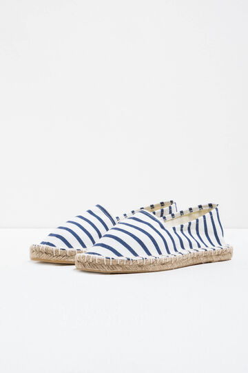 Striped pattern espadrilles