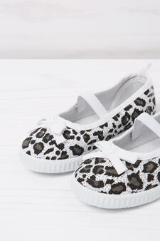 Animal-print slip-ons, Black, hi-res