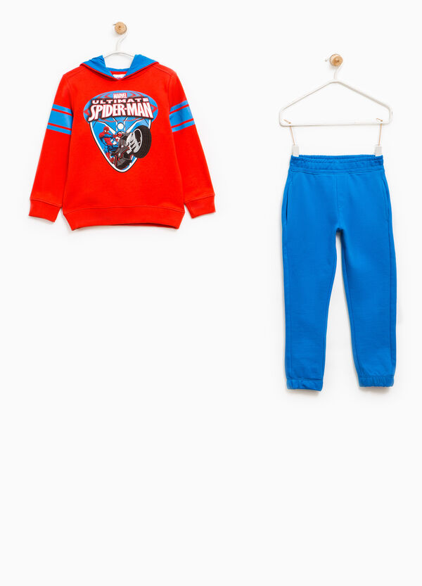 Cotton tracksuit with Spiderman print | OVS