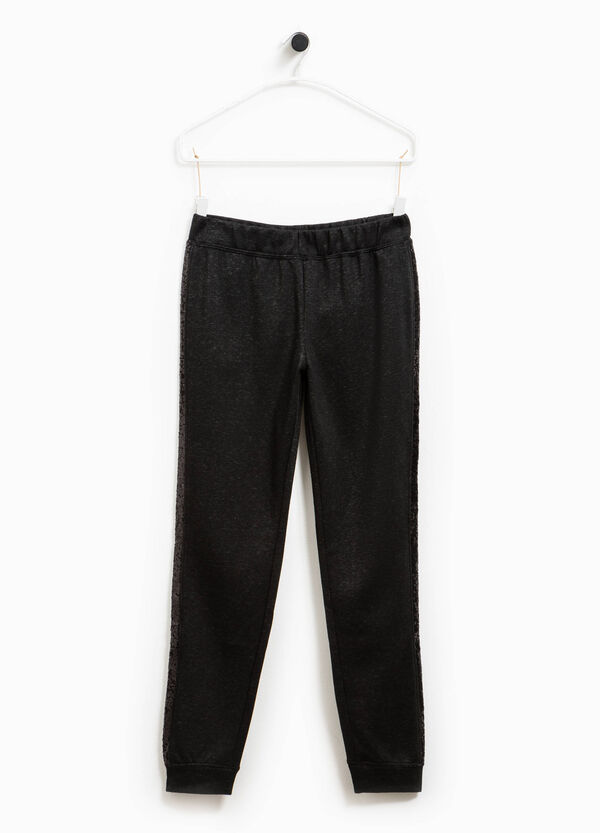 Pantaloni tuta con paillettes Smart Basic | OVS