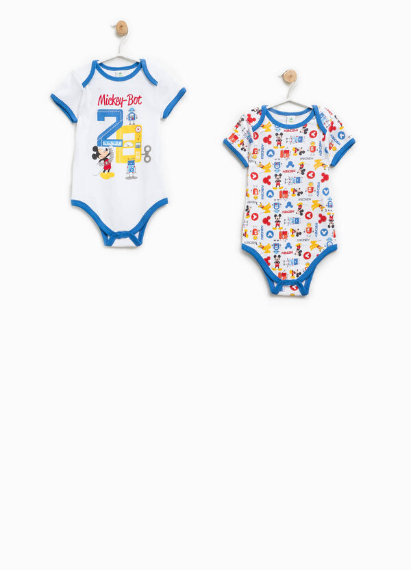 Two-pack Mickey Mouse Robot bodysuits | OVS