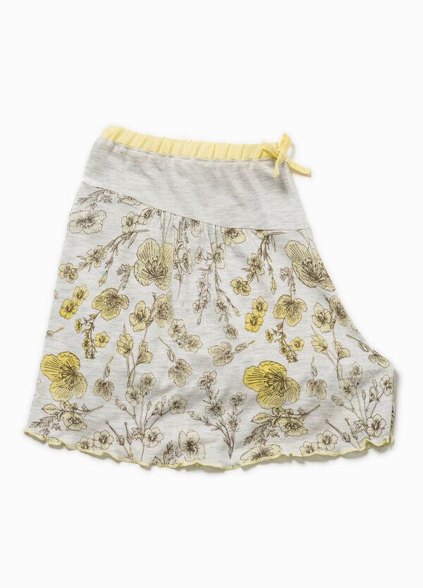 Shorts de pijama con flores y lacito | OVS
