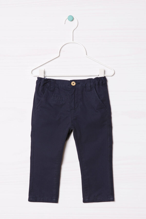 Solid colour 100% cotton joggers | OVS