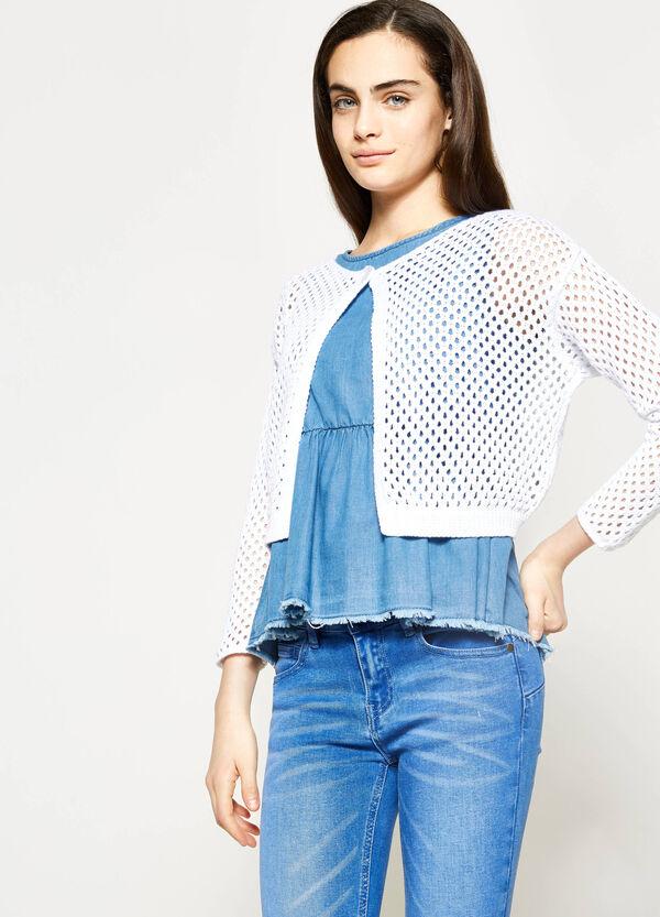 Coprispalle tricot a maglia larga Teen | OVS