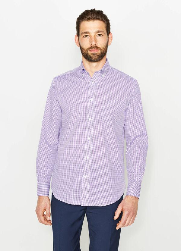 Camisa formal regular fit de cuadros | OVS