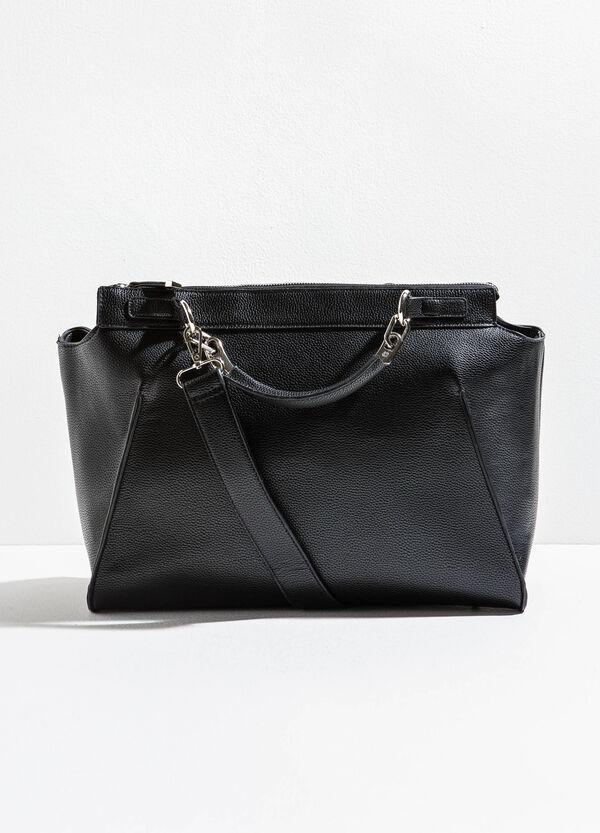 Shoulder bag with textured effect | OVS