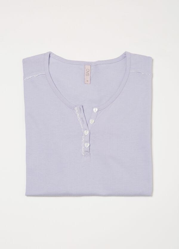 Maglia pigiama cotone bottoni Curvy   OVS