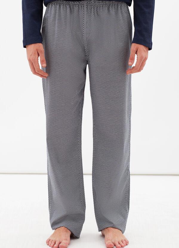 Pyjama trousers in 100% cotton | OVS