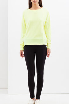 Top with symmetrical seams, Light Yellow, hi-res