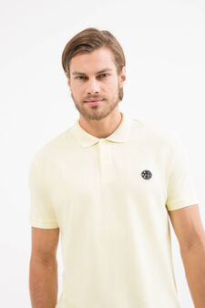100% cotton polo shirt by Maui and Sons, Lemon Yellow, hi-res