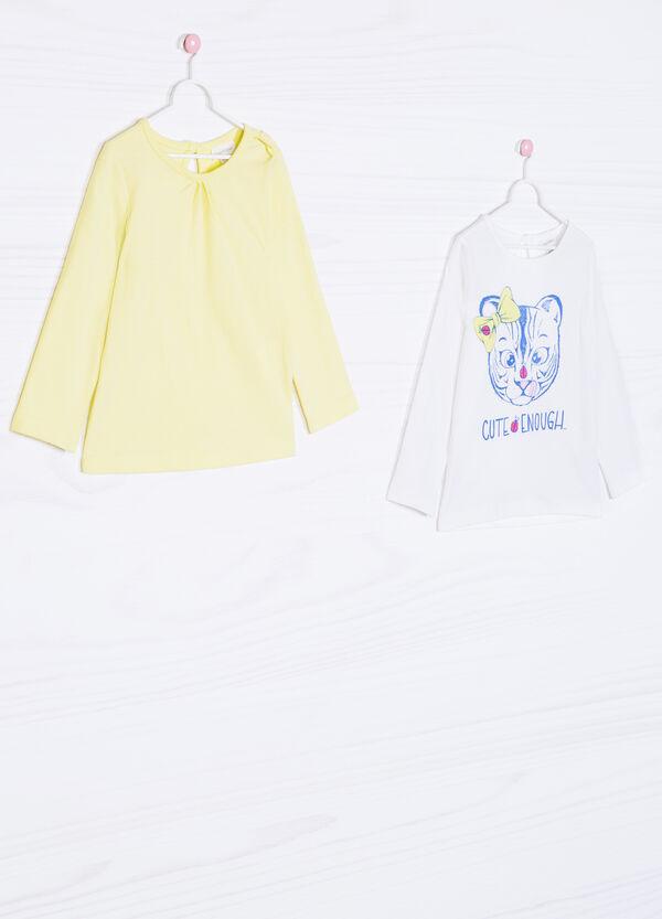 Set due t-shirt puro cotone | OVS