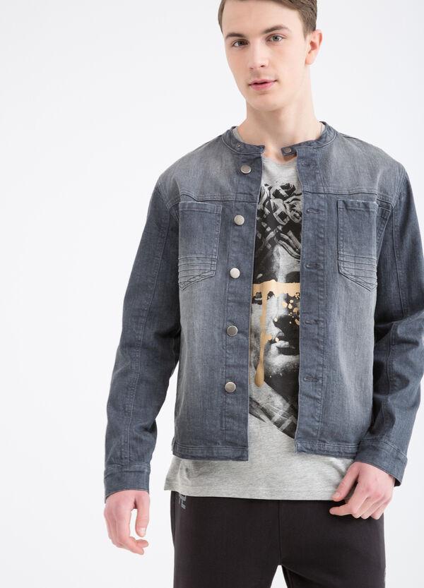 Giubbotto di jeans effetto used   OVS
