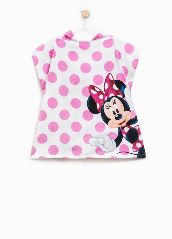 Polka dot bathrobe with Minnie Mouse print | OVS