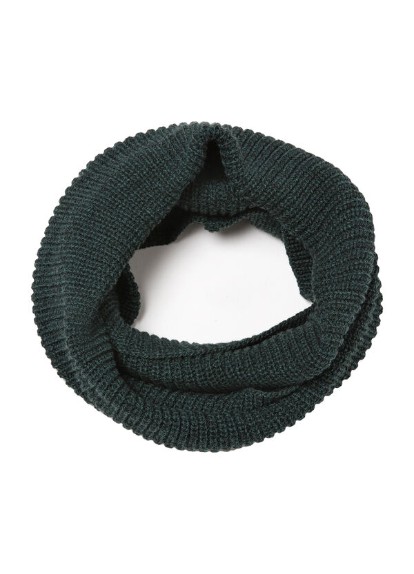 Solid colour loop scarf | OVS