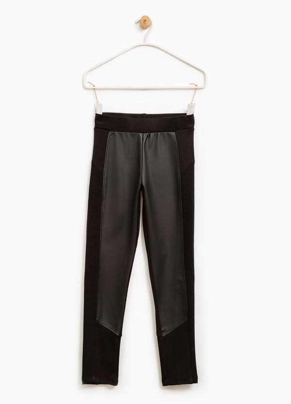 Pantaloni viscosa stretch tinta unita | OVS