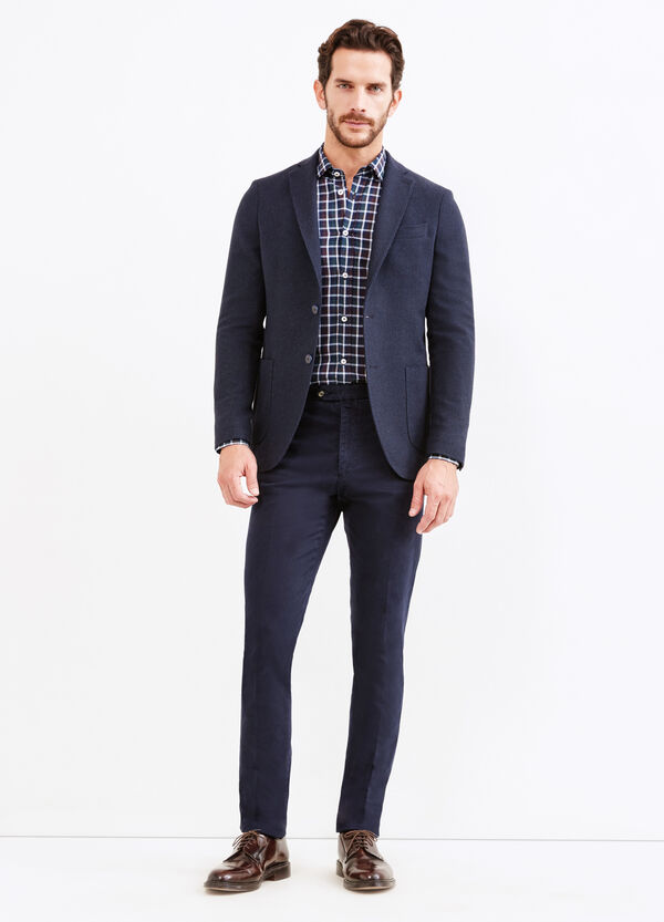 Rumford two-button jacket with micro pattern | OVS